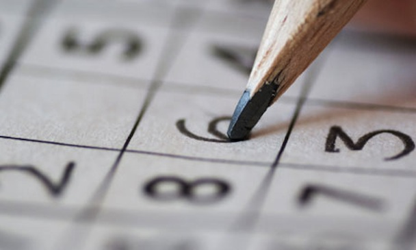 Completing Sudoku puzzle with pencil