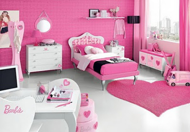 Pinky girl Bedroom Design Ideas Picture 2