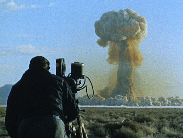 ATOMIC CINEMATOGRAPHER RECORDS ATOMIC MUSHROOM CLOUD