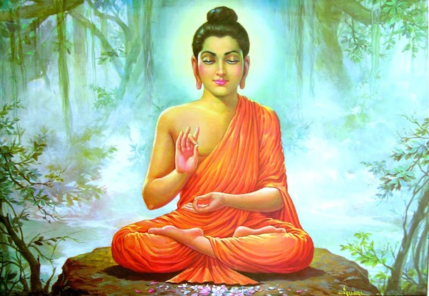 The Buddha in the Forest