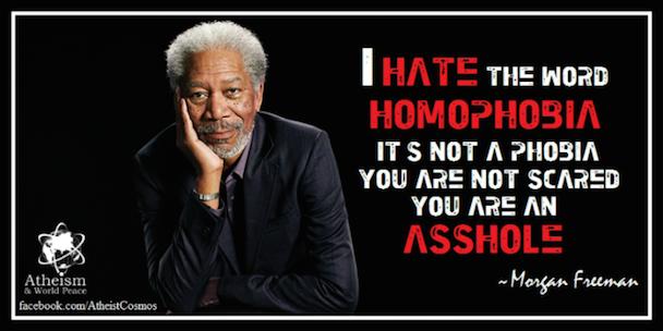 MorganFreemanonHomophobia