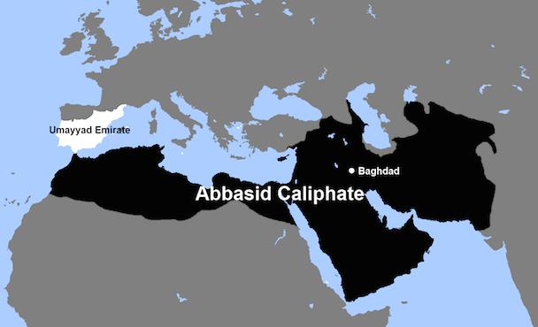 Abbasid_Caliphate_and_Umayyad_Emirate