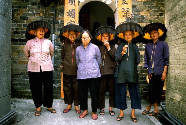 Hakka women Hong Kong Asia