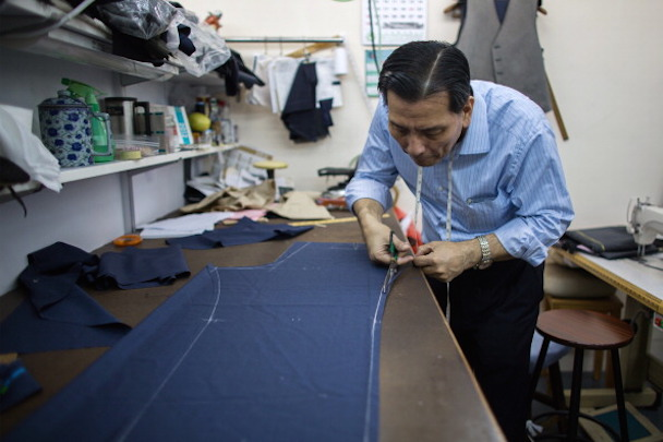 Inside Ascot Chang Tailor Shop And Workshop Ahead Of Retail Numbers