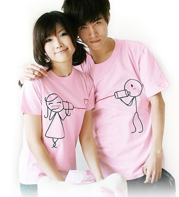 couple-t-shirts-korean-style-Spring-Summer-2012