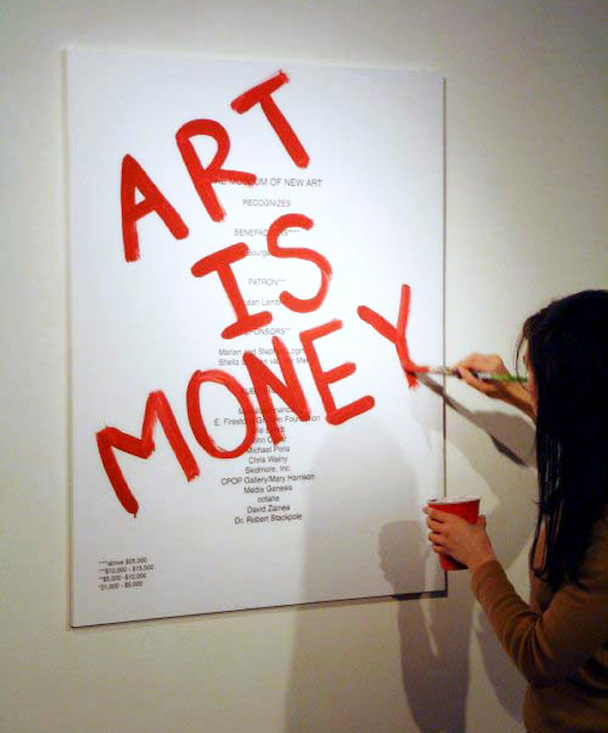 53a. ART IS MONEY