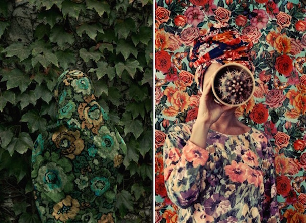 Camouflage-Self-Portraits