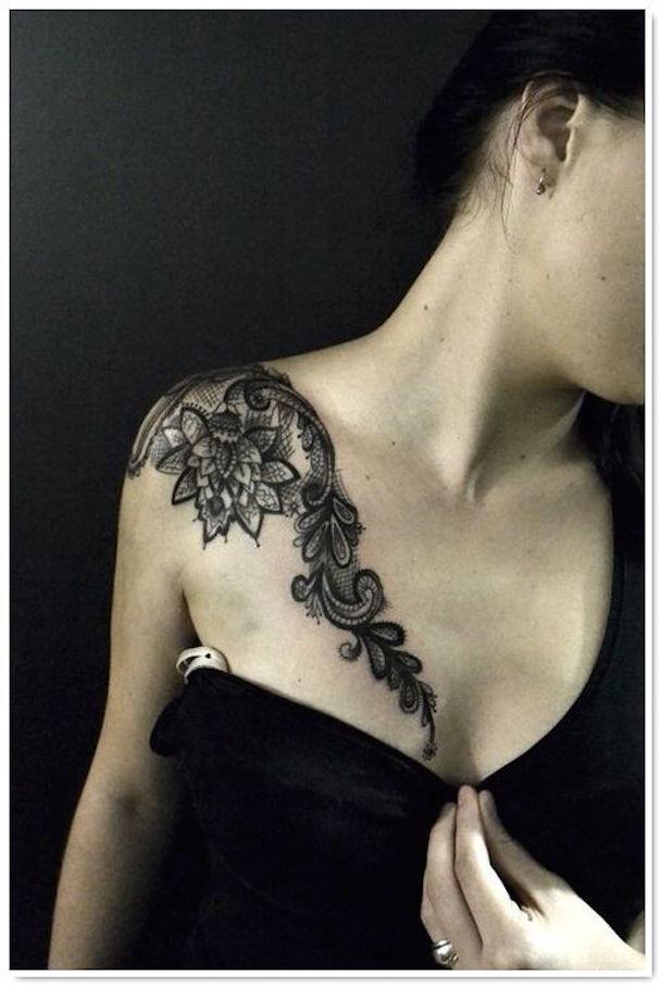 Lace-Shoulder