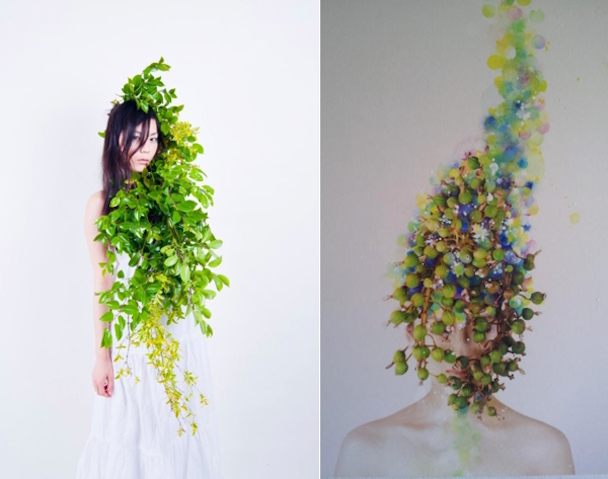 greenery-head-piece