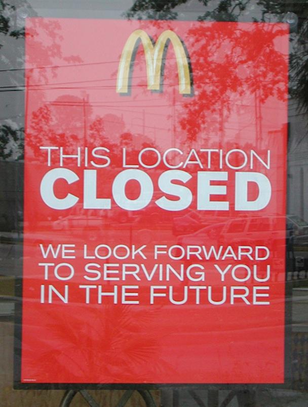 mcdonalds-closed
