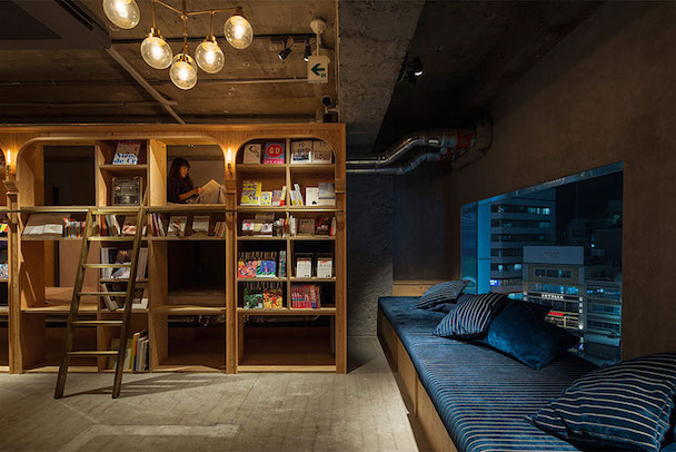 library-hotel-book-bed-tokyo-8