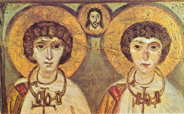 Saints-Sergius-and-Bacchus-Icon-7th-Century