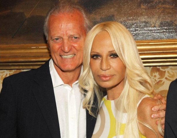 Santo and Donatella Versace